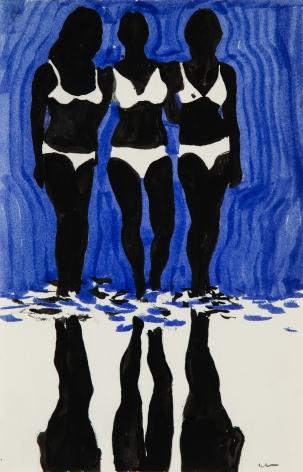 Idelle Weber (b. 1932) Babes, 1970s