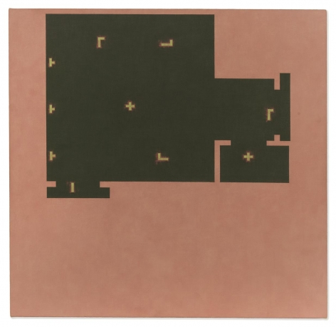 Julia Fish - Living Rooms : SouthEast - Two, with lights, action, 2003-2005 - Hollis Taggart