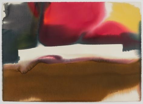 Paul Jenkins (1923-2012) Phenomema Tangier Ramparts, 1983