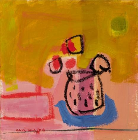 Chloë Lamb (b. 1960) Spotty pot, 2018