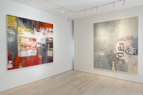 Installation view: Alexis Portilla: Poet in Space