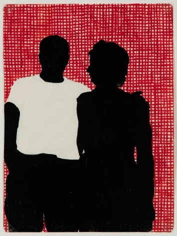 Idelle Weber (b. 1932) Kitchen Couple, 1960
