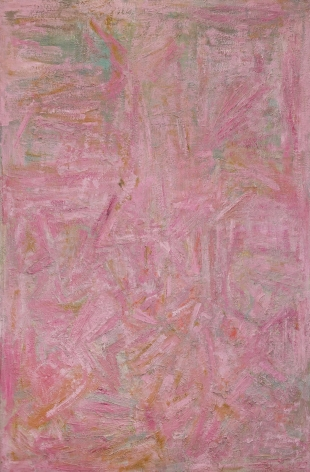 Ben Isquith (1928-1968) Pink Painting, 1953