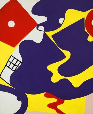 Knox Martin (b. 1923) She #1, 1972