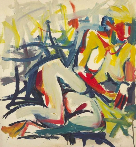 Jack Tworkov (1900-1982) Untitled (Woman), circa 1955
