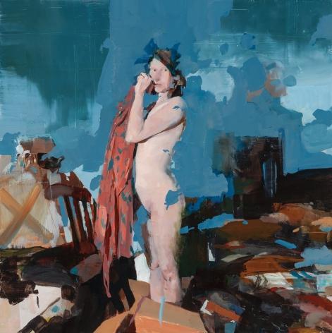 Alex Kanevsky (b. 1963) J.W.I. in Her Room, 2016