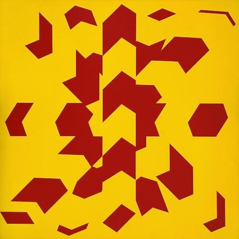 Allan D'Arcangelo - Constellation #5, 1970