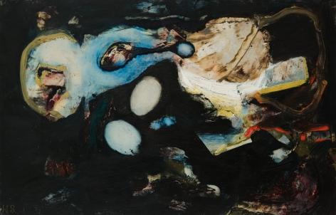 William Scharf (1927-2018) Night Move, 1964