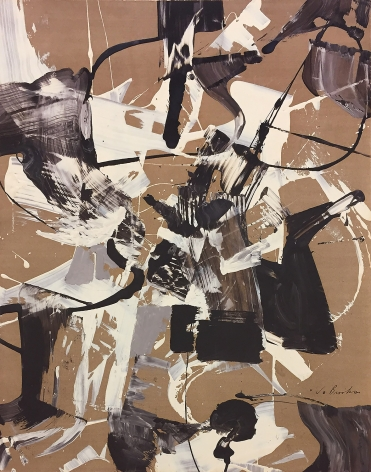 James Brooks (1906-1992) Untitled, 1952