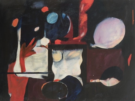 William Scharf, Of the Square and by the Night, 1956