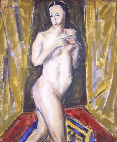Alfred H. Maurer (1868-1932) Standing Nude, circa 1927-28