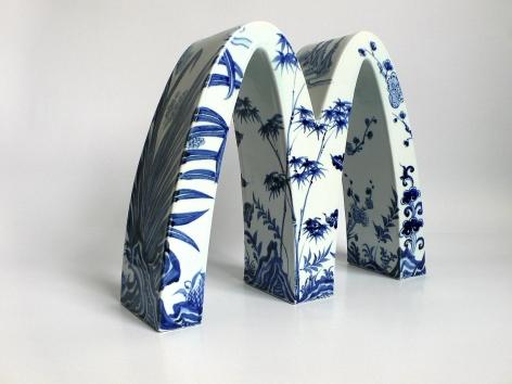 Li Lihong - McDonald's - Four Gentlemen (Plum, Iris, Bamboo and Chrysanthemum), 2007
