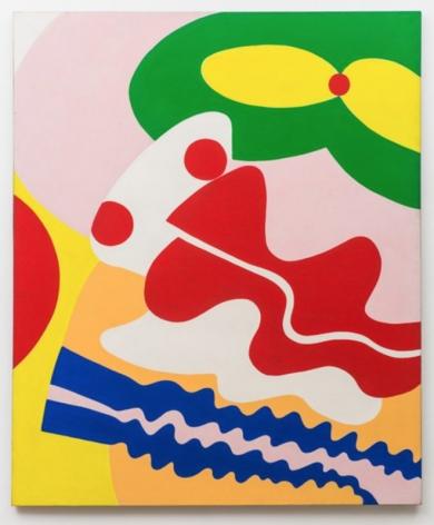 Knox Martin (b. 1923) Pandora (Green Mouth, Red Nose), 1972