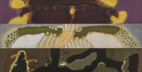 William Scharf, The Sun Arch & The Ice Bride Are Above The Lilac Walk, 1979