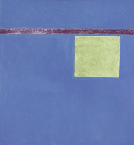Theodoros Stamos (1922-1997) Hovering Yellow Sun-Box, 1967