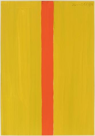 Günther Förg (1952-2013) Untitled (yellow-orange), 1988