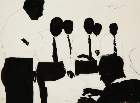 Idelle Weber (b. 1932) Madison Avenue, 1960s