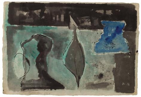 Theodoros Stamos (1922-1997) Untitled (Study for Three Kings, 1949), 1948