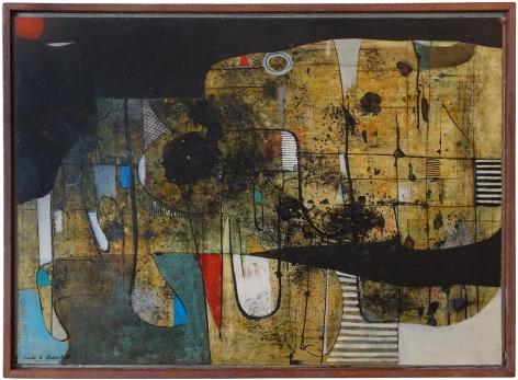 Conrad Marca-Relli - Untitled, circa late 1940s