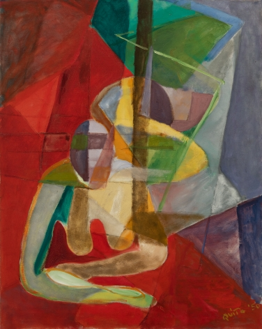 Quita Brodhead (1901-2002) Layers of Space, 1950