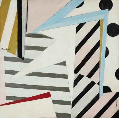 Knox Martin (b. 1923) Garden of Time, 1963