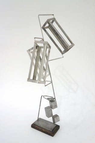 George Rickey - Three Parallelepipeds, 1984