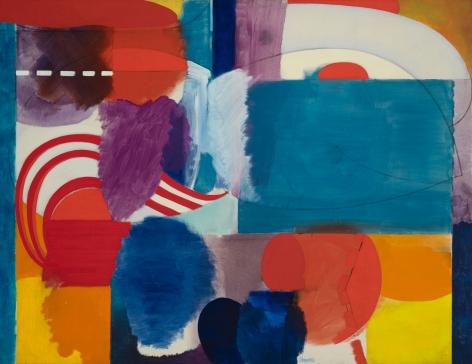 Fred Mitchell (1923-2013) Battery Park Hallucination, 1965-7