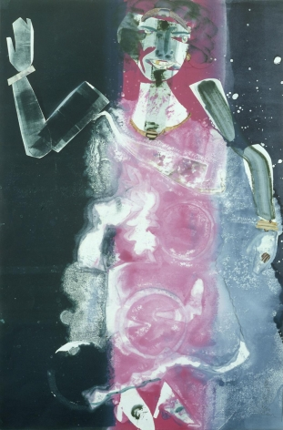 Romare Bearden - Empress of the Blues, 1981