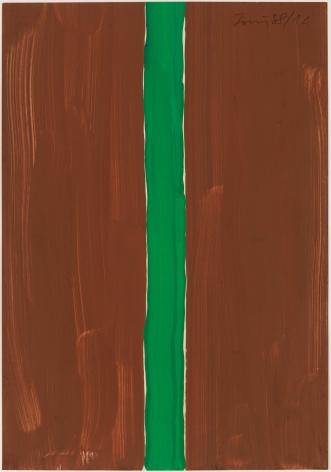 Günther Förg (1952-2013) Untitled (brown-green), 1988