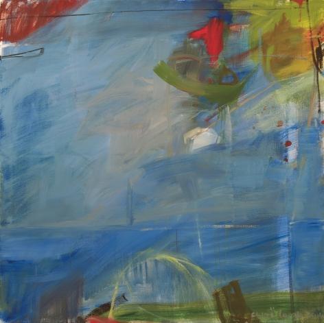 Chloë Lamb (b. 1960) Red and Blue, 2014