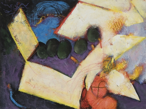 William Scharf (1927-2018) Ivory Totems, 2007-2012