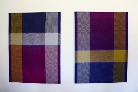 Debbie Barrett-Jones: Gold, Shades of Purple and Silver