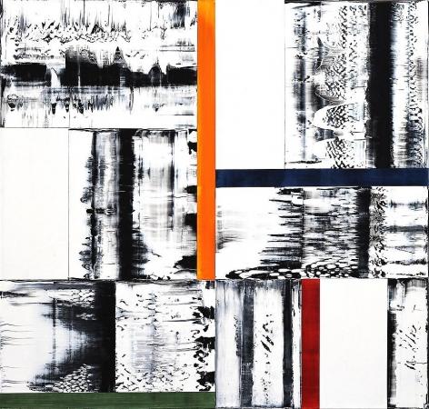 , Ricardo Mazal, Untitled, 2013, oil on linen, 42 x 42 inches