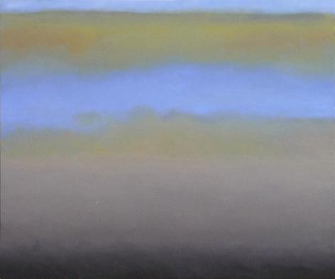 Joan Vennum, Zone Unknown, 2010, oil on canvas, 24 x 29 inches
