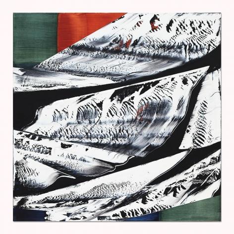 , Ricardo Mazal, Black Mountain MK8, oil on linen, 40 inches x 40 inches