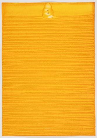 Sohan Qadri,Uma IV, 2010, ink and dye on paper,39 x 27.5 inches/99.1x 69.9cm