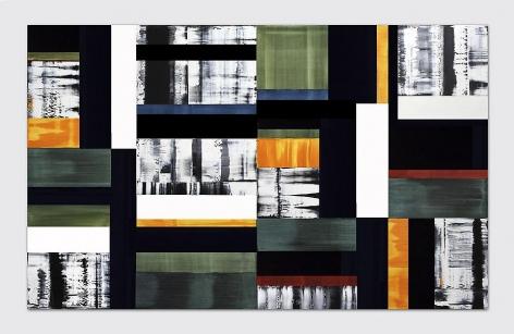 Septiembre 22.12, 2012, oil on linen, 68 x 110 inches