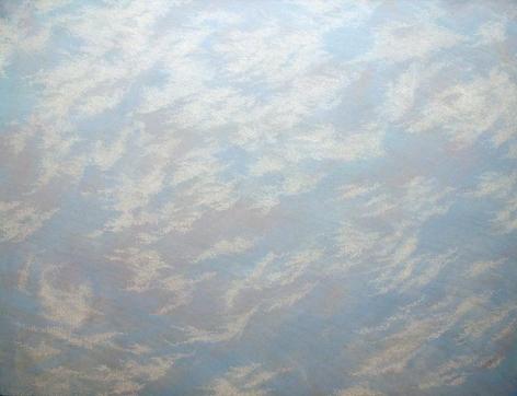 "Hosook Kang Movement VIII2007Acrylic on canvas48 x 63"""
