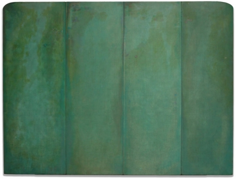Ming, 2006, acrylic polymer on fabric on wood,30 x 40 inches/76.2 x 101.6 cm