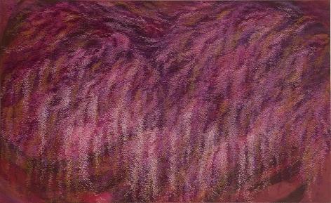 "Reflection, 2008, Acrylic on canvas, 69 x 43"""