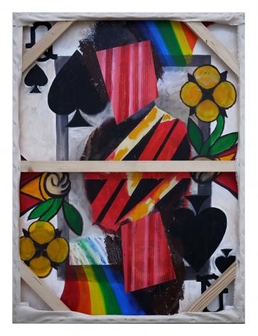 Angkrit Ajchariyasophon, Cards Series–The Flower (back)