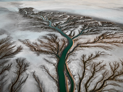 Colorado River Delta #2, 2011, chromogenic color print, 60 x 80 inches/152.4 x 203.2 cm