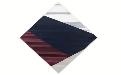 Diamond 4, 2021, oil on linen, 56 x 60 inches/142 x 152.4 cm