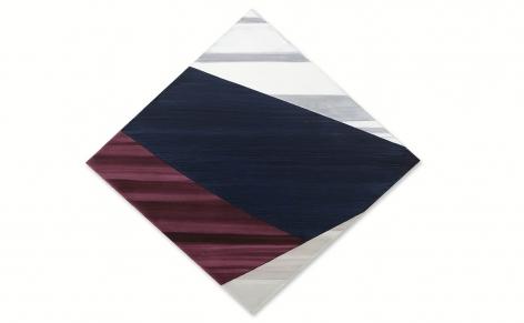 Diamond 4, 2021, oil on linen, 56 x 60 inches/142 x 152.4 cm