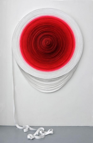 Turned Out II, 2010, acrylic paint on canvas, 59 x 53.2 x 2.4 inches