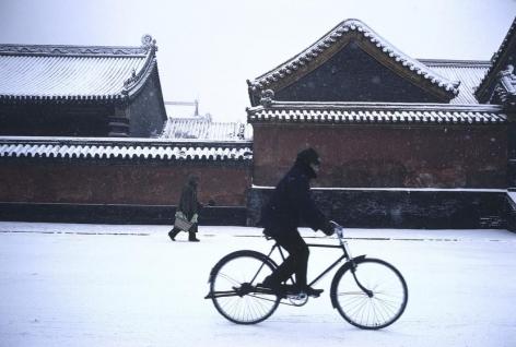 Shenyang, Liaoning Province, China, 1981, dye transfer print, 20 x 24 inches/50.8 x 61 cm © Hiroji Kubota/Magnum Photos