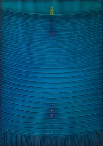 Lalita II, 2007, ink and dye on paper, 55 x 39 inches/139.7 x 99.1 cm