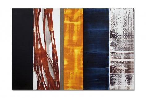 ENERO 7.10, 2010, oil on linen, 40 x 60 inches