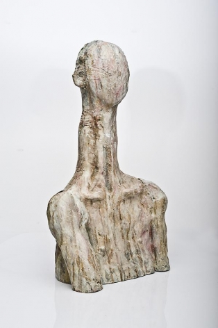 Haritorn Akarapat, Lapse of Memory / 40-untitled, 2001-2008, bronze with patina, 50 x 28 x 81 cm