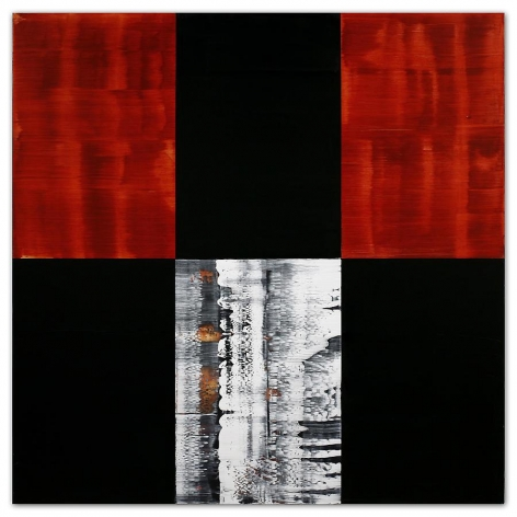Ricardo Mazal, Kora C24, 2011, Oil on linen, 60 x 60 inches